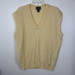 Como Sport by Cobra Golf Wool V Neck Sweater Vest
